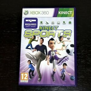 Kinect Sports Xbox 360 European Version PAL Complete Tested and Working