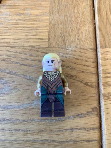 Lego Hobbit Lord Of The Rings Minifigure Lor035 Legolas Green Leaf 79001 79017
