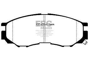 DP1124 EBC Ultimax Front Brake Pads fit Delica Spacegear L 200 96-06 L 300 L 400