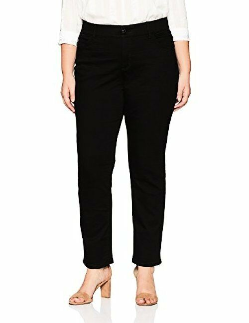 Lee Womens Collection Plus SZ Motion Series Total Freedom Straight