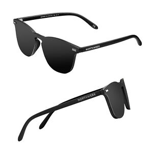 correr zapatos replicas Precio al por mayor 2019 Detalles de Gafas de sol sunglasses Northweek Phantom Wall All Black lente  negra polarizada