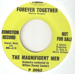 THE MAGNIFICENT MEN Forever Together CAPITOL PROMO NORTHERN SOUL USA 45