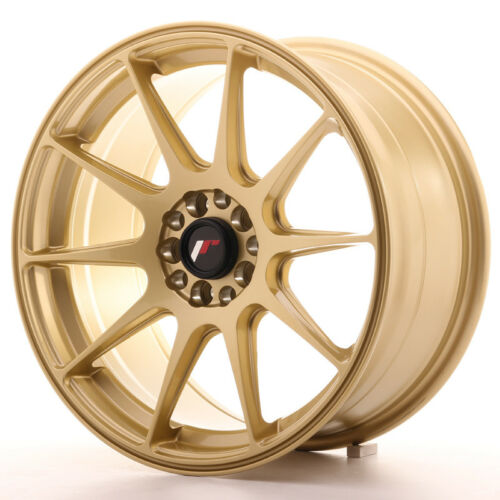"108 Oro GOLD Un Cerchio in Lega Japan Racing JR11 17/"" x 8.25/"" ET35 5 x 100"