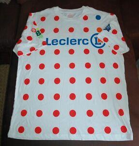 CASQUETTE POIS ROUGE LECLERC CARAVANE PUBLICITAIRE TOUR DE FRANCE 2019 CYCLISME