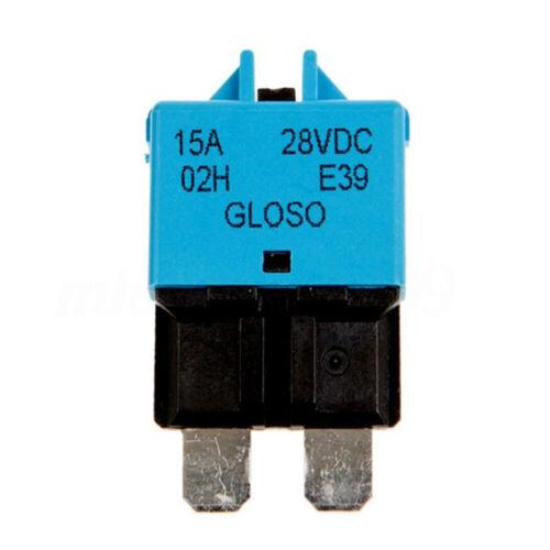 5-30A AMP Circuit Breaker Dual Battery Waterproof 12V 24V Fuse Manual Reset