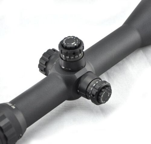 Visionking 6-25X56 Mil dot Long Range Rifle scope 35 mm 50 Cal 11 dovetail rings