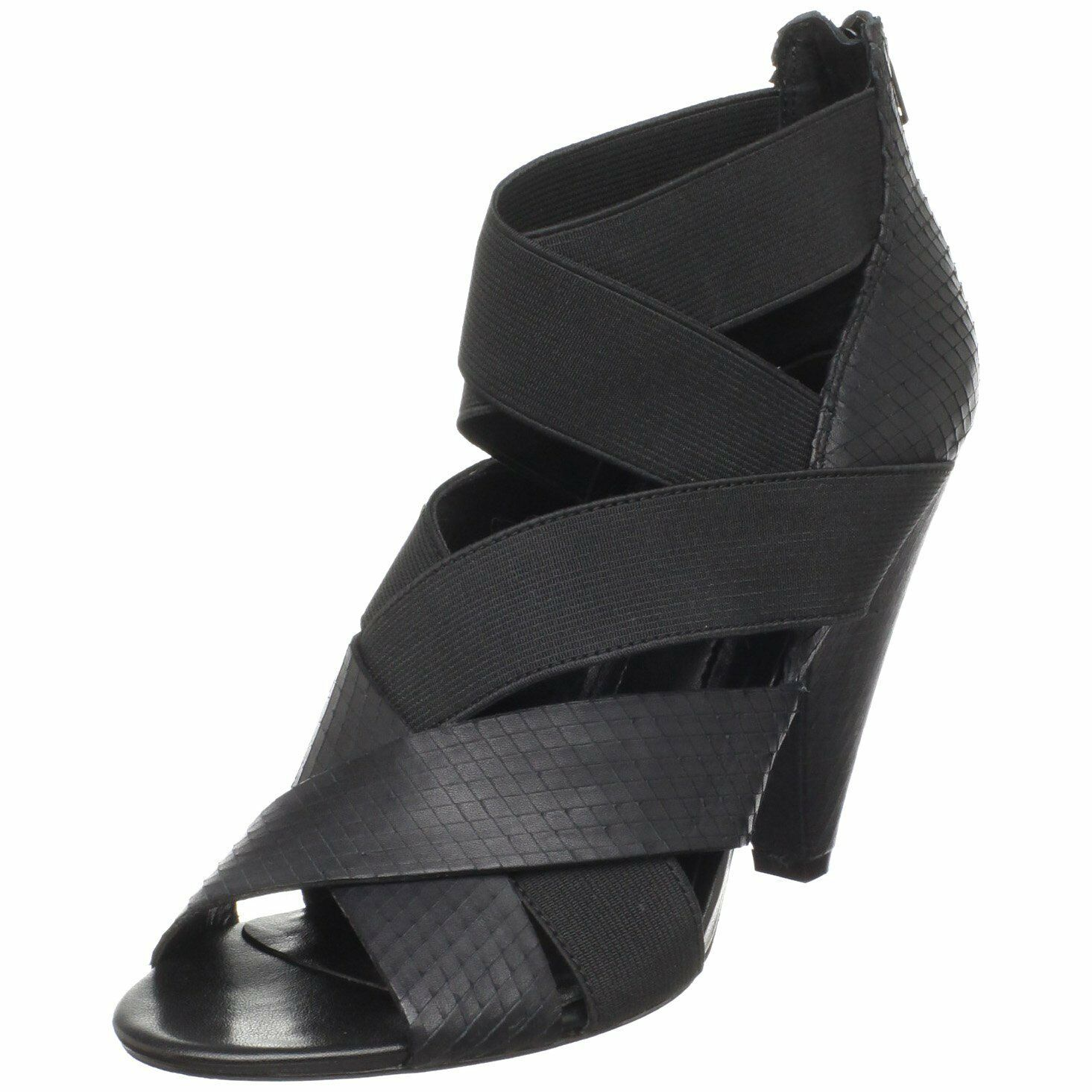 liquidazione BCBGeneration Donna    Bova Sandal nero Leather 8.5M New   Display  incredibili sconti