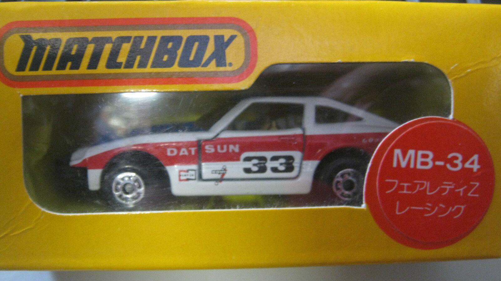 1/64 Matchbox Japón Datsun 33 Race Car