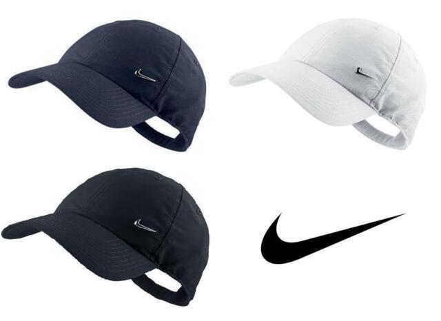 f1a990072 Nike Metal Swoosh Youth Boys Junior Sports Peak Kids Cap Baseball Hat  Adjustable