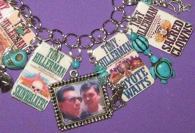 """SKINWALKERS""- CHEE & LEAPHORN MYSTERIES- ALTERED ART CHARM BRACELET"