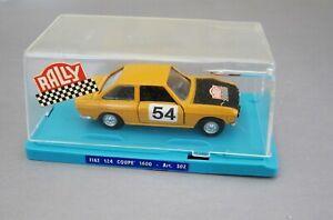 MERCURY-FIAT-124-COUPE-1600-RALLY-w-ORIGINAL-CASE-VERY-RARE-1-43-BEAUTIFUL