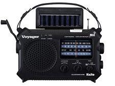 Hand Crank Radio Shortwave AM FM 3-Way Power Kaito KA-500 Solar Powered Radio B