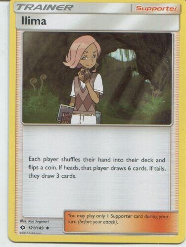 Llima Pokemon Sun /& Moon TCG Card 121//149