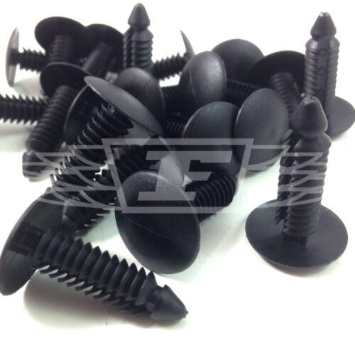 47564 Árbol de abeto botones de abeto Puerta Panel MOLDURA Clips techo microbios 7.3mm Negro