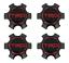 """thumbnail 3 - 2016-2019 Tacoma TRD PRO Black Center Cap SET For 16"""" TRD Wheels PT280-35170-02"""