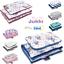 Indexbild 1 - 2tlg SET Kinderwagen MINKY Bettwäsche Füllung BabyDecke Kissen für Neugeboren
