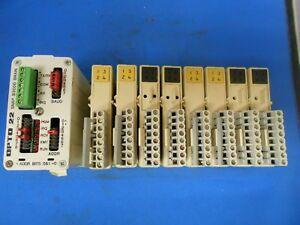 OPTO-22-MODULE-RACK-WITH-B3000-BRAIN-WITH-8-SNAP-MODULES