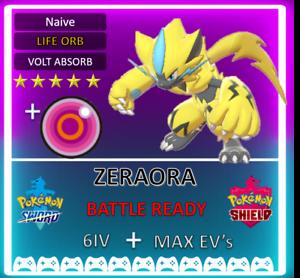 Pokemon-Sword-amp-Shield-6IV-EVENT-ZERAORA-MAX-EV-6IV-BRAND-NEW-zekrom-mewtwo