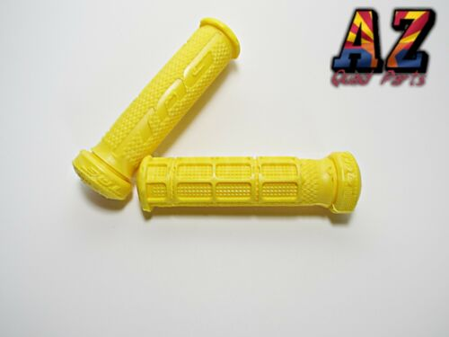 Tag ATV Handlebar Grips Yellow Can Am DS450 DS650 DS 450 650 Renegade Outlander