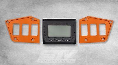Rocker Switch Dash Panel Custom Orange for Polaris RZR Turbo 2017-2018