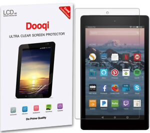 """3X HD Clear Screen Protector For Amazon Fire HD 8 Tablet (2018/2017 Release)"""""""