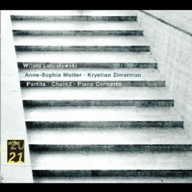 MUTTER/ZIMMERMANN/LUTOSLAWSKI - KLAVIERKONZERT/PARTITA/CHAIN 2  CD NEU