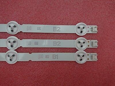 22Original 8pcs LED strip for LG 47LY340C DRT 3.0 47 inch A B 6916L-1715A 1716A