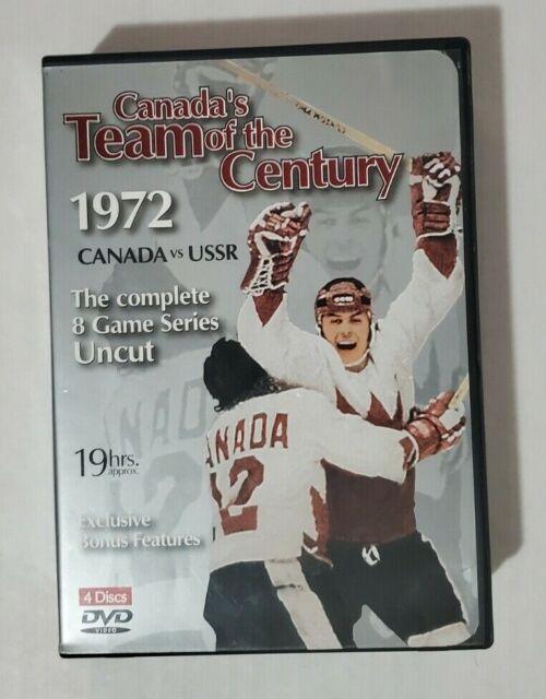 Canada's Team Of The Century 1972 Canada Vs USSR
