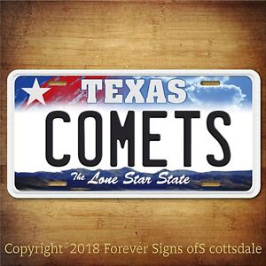 Longhorn Texas Your TEXT Personalized Custom Aluminum Vanity License Plate Tag