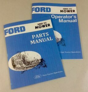 ford series  rear attached mower operators owners parts
