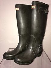 Hunter Tall Rain Boots  Unisez SZ UK8 US9M US 10F EU42