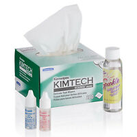 Microscope Maintenance Kit - Immersion Oil, Wipers & Optical Lens Cleaner on Sale