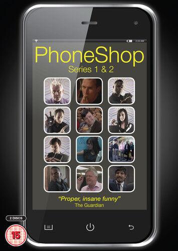 Phone Shop: Series 1 and 2 DVD (2013) Tom Bennett ***NEW***