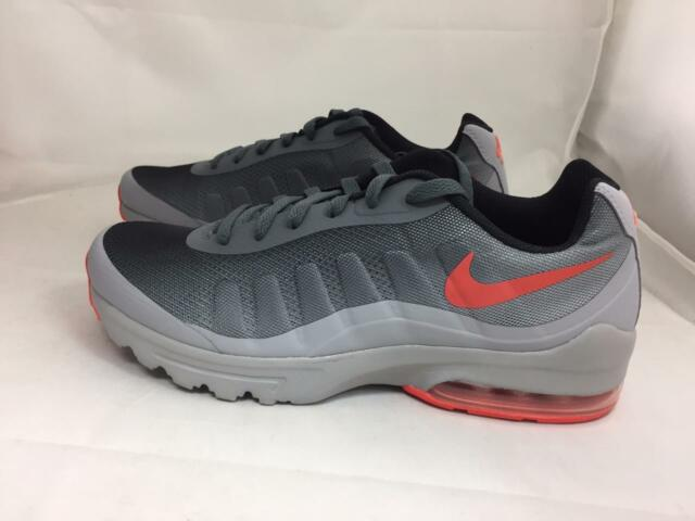 78eab5e605 Nike Air Max Invigor Print Mens 749688-003 Grey Orange Running Shoes ...