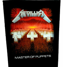 Metallica Master Puppets Back Patch rock heavy metal leather denim backpatch die