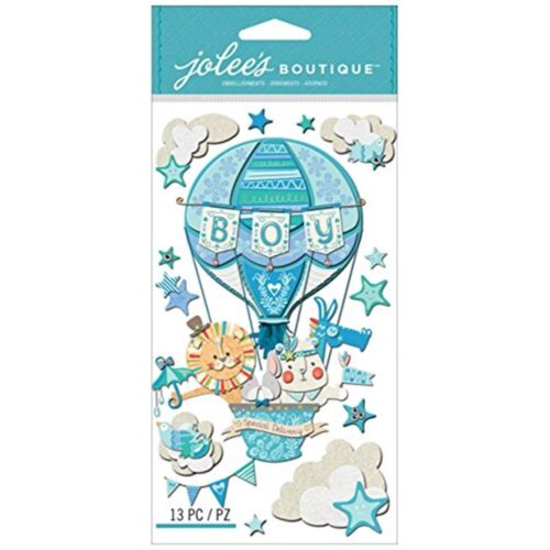 Special Delivery Jolee/'s Le Grande Dimensional Stickers-baby Boy