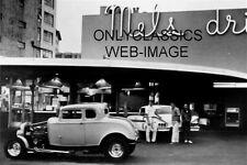 "MEL'S DRIVE IN ""AMERICAN GRAFFITI"" HOT ROD 4X6 PHOTO CHEV IMPALA AUTO CRUISING"