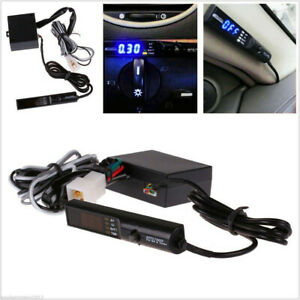Universal-APEX-Auto-Turbo-Timer-For-NA-amp-Turbo-Black-Pen-Control-Blue-LED