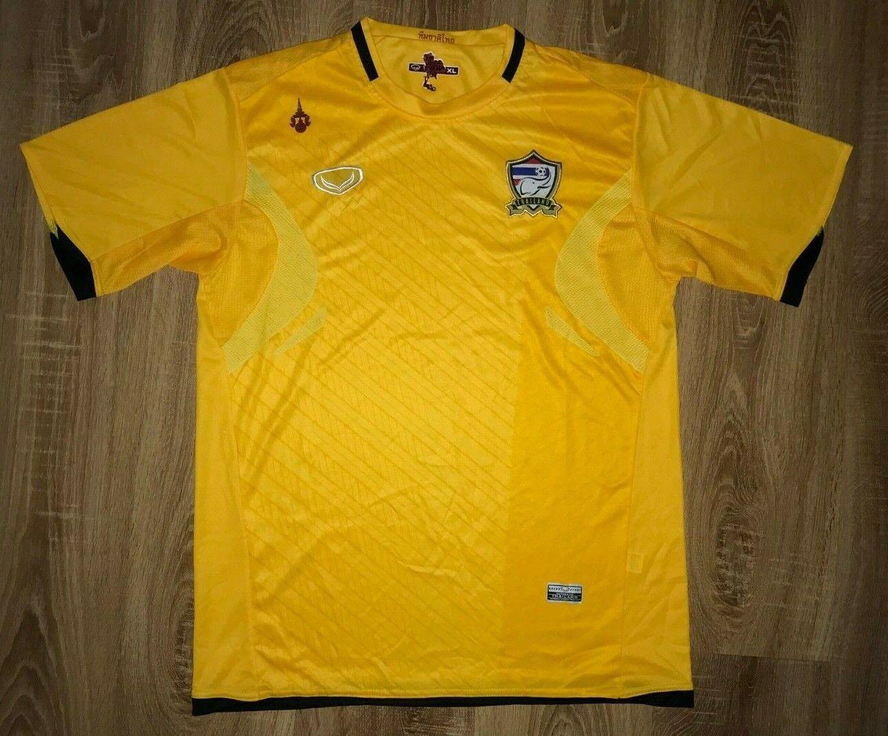 Thailand 2012 - 2013 rare Grand Sport third away yellow shirt size XL