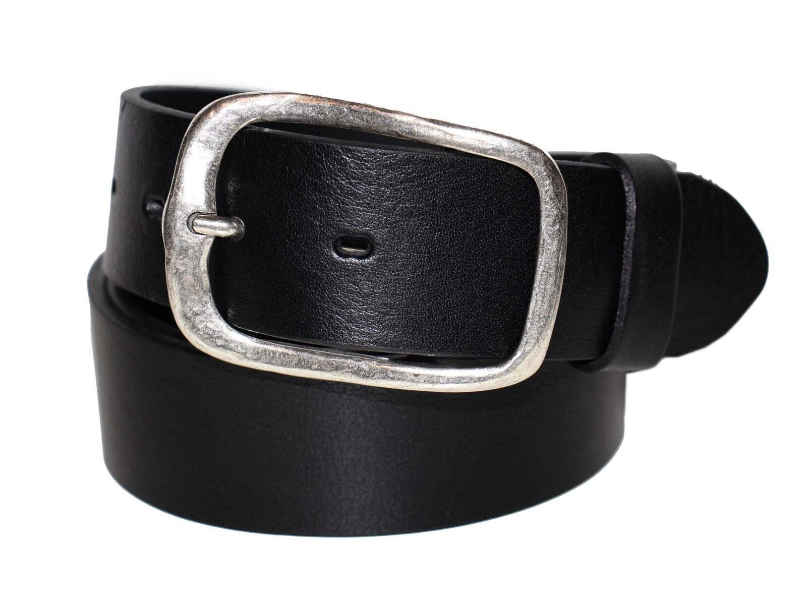 Buckles & Belts Las Vegas Unisex Belt Leder Gürtel Ledergürtel
