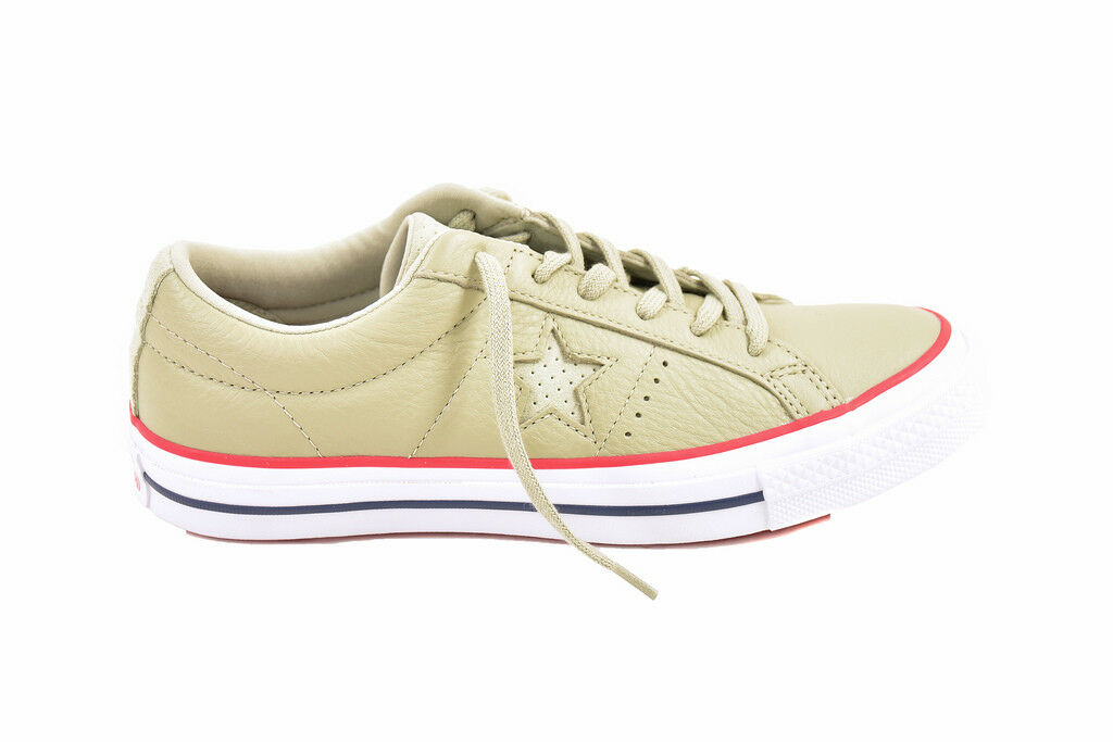 Converse Unisex Star OX 160625 Zapatos verde One Talla UK 7
