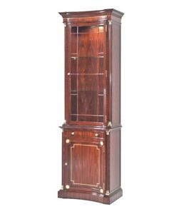 Incroyable Details About New Custom Made Chippendale ~ Regency Narrow Display Cabinet  Curio China