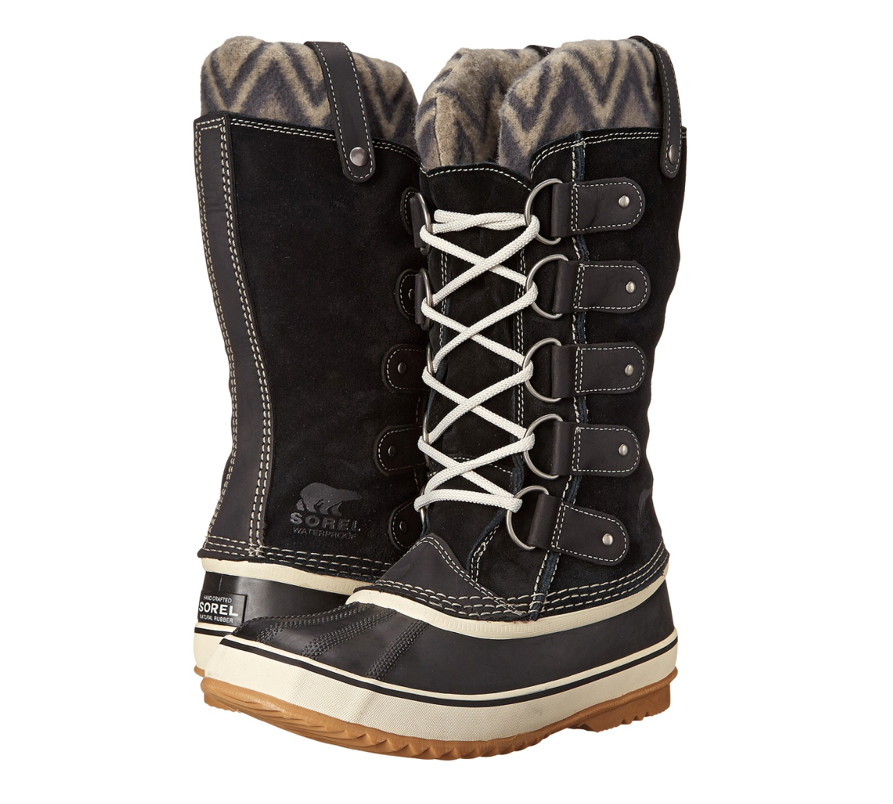 80% di sconto Sorel Joan Of Arctic Knit II II II stivali Donna  6 nero Suede Leather Winter Snow  disegni esclusivi