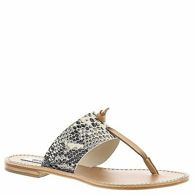 Steve Madden OLIVIA Womens Leather Thong Slides Sandals