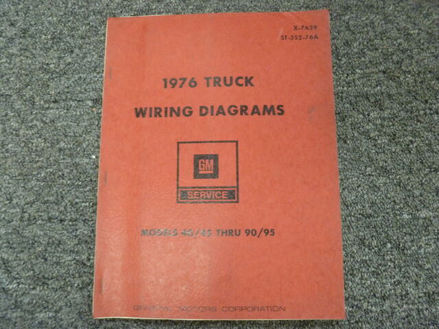 1976 Chevy C40 C50 C60 C70 Medium Duty Truck Electrical
