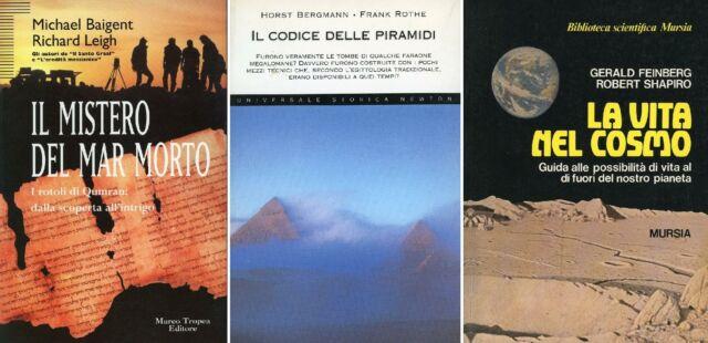 BAIGENT, M. e LEIGH, R. Il mistero del Mar Morto + altri 2 libri
