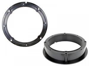 VW-Volkswagen-Passat-Front-amp-Rear-Door-Speaker-Adaptor-Rings-Spacers-165mm-6-5-034