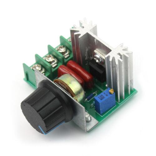 Drehzahlregler Speed Motor PWM Controller Kontroller Regler Schalter Dimmer TAM