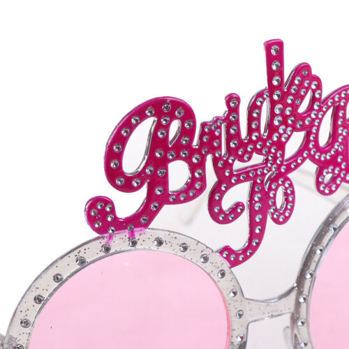 Bride To Be Glasses Pink Diamond Ring Shower Bride Sunglasses BachelorettePar~ii