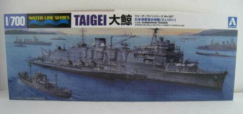 Japanisch Marine U-Boot Tender TAIGEI  Bausatz  AOSHIMA  1:700  OVP  NEU